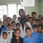 HRF President Visiting Students in Kabul