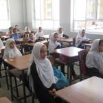 Students at the Homaira Rahman School's Opening Day