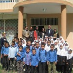 Students with Afghanistan's Ministry of Education Spokesman, HRF and OWA Staff