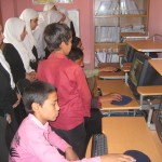 Computer Lessons at HRF Learning Center