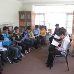 Class at the HRF Learning Center
