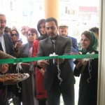 Afghanistan's Ministry of Education Spokesman at the Ribbon Cutting Ceremony